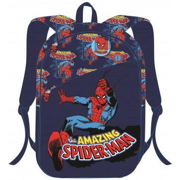 Ghiozdann, clasele 1-4, albastru, PIGNA Spiderman
