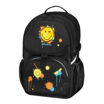Rucsac ergonomic, HERLITZ Be.Bag Cube Smiley World - Editie Speciala