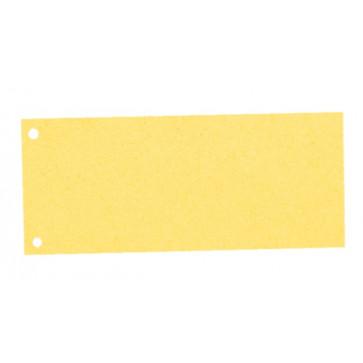 Sparatoare din carton, cu 2 perforatii, 100 buc.set, A4, galben, Esselte