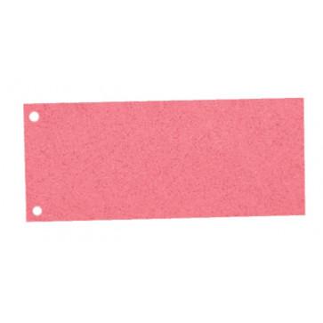 Sparatoare din carton, cu 2 perforatii, 100 buc.set, A4, rosu, Esselte