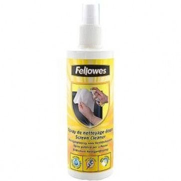 Spray pentru curatare monitor, 250ml, FELLOWES