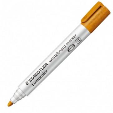 Marker pentru tabla, 2mm, portocaliu, STAEDTLER Lumocolor 351