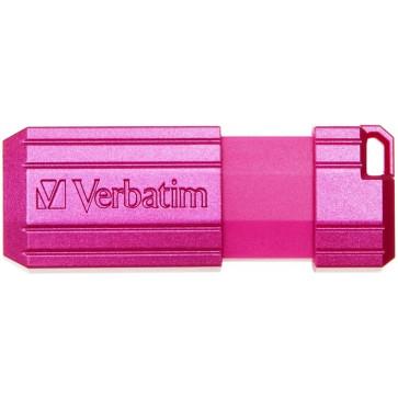 Stick USB 32GB VERBATIM PinStripe Key USB 2.0, Pink