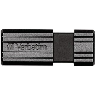 Stick USB 32GB VERBATIM PinStripe USB 2.0, Black