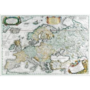 Mapa de birou, 70 x 50cm, harta Lumii Antice, STIEFEL