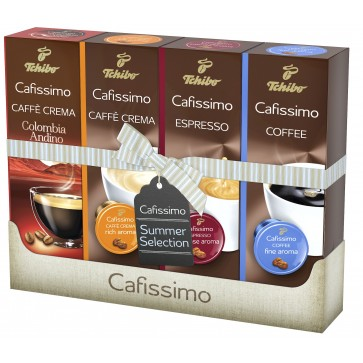 Capsule cafea, 40 capsule/pachet, TCHIBO Cafissimo Summer Colection
