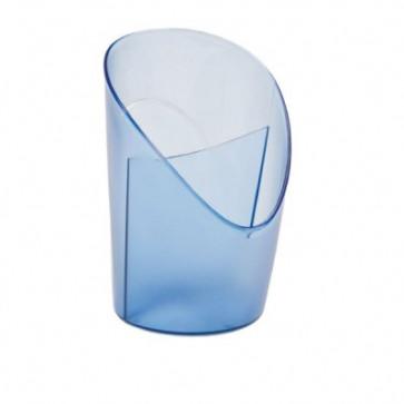 Suport de birou, 2 compartimente, albastru translucid, ESSELTE Intego
