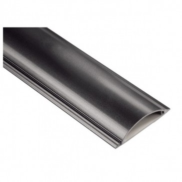 Suport acoperire cabluri, 100cm, negru, HAMA