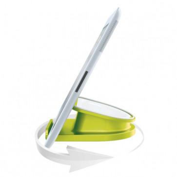 Suport rotativ pentru iPad/tableta PC, iPhone/smartphone, verde, LEITZ Complete WOW
