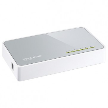 Switch, 8 porturi, alb, TP-LINK SF1008D