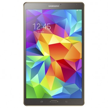 "Tableta, Wi-Fi, 8.4"", Octa Core Exynos 5 1.9GHz +1.3GHz, 16GB, 3GB, Android KitKat 4.4, Titanium Bronze, SAMSUNG Galaxy Tab S T700"