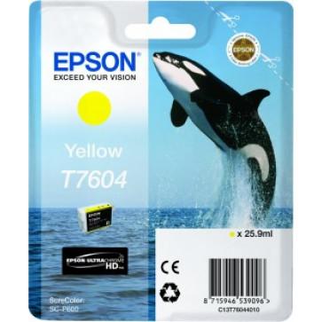 Cartus, yellow, EPSON C13T76044010