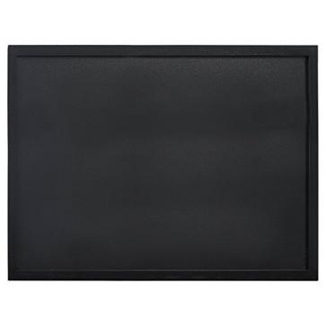 Tabla pentru creta, 2 suprafete, rama lemn negru, 60 x 80cm, SECURIT