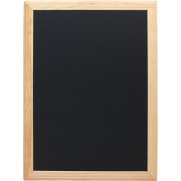 Tabla pentru creta, rama din lemn, 60 x 80cm, SECURIT Universal