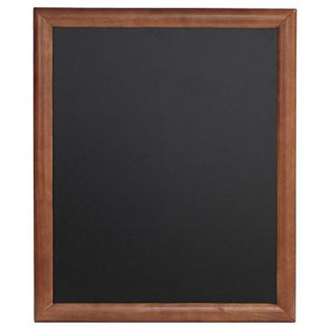 Tabla pentru creta, rama lemn maro inchis, 50 x 60cm, SECURIT Universal