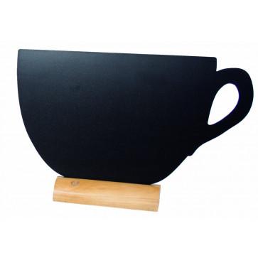 Tabla pentru creta, suport lemn, forma Cup, SECURIT