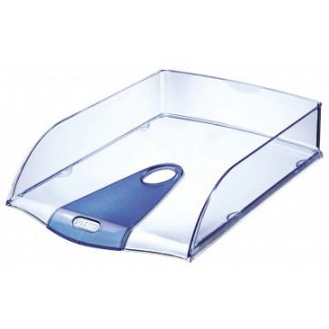 Tavita documente, albastru transparent, LEITZ Allura