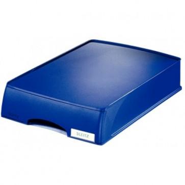 Tavita cu sertar, albastru, LEITZ Plus