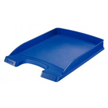 Tavita documente, albastru, LEITZ Slim Plus