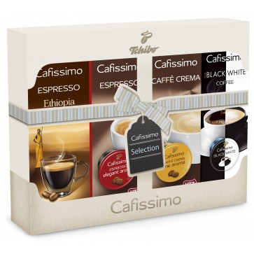 Capsule cafea, 40 capsule/set, TCHIBO Cafissimo Selection