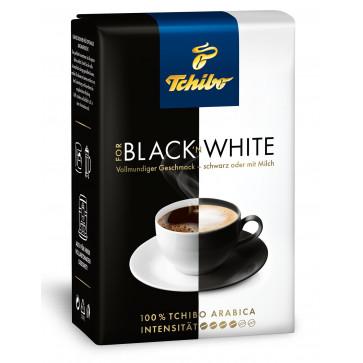 Cafea prajita si macinata, 250g, TCHIBO Black N' White