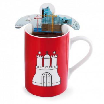 Set pliculete de ceai, 5 bucati, DONKEY Moin Moin