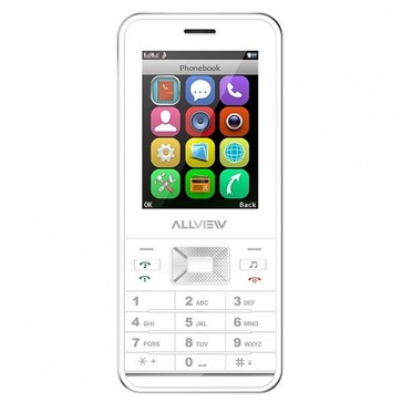 Telefon mobil Dual Sim, White, ALLVIEW M7 Start