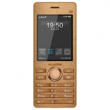 Telefon mobil Dual Sim, Gold, ALLVIEW S6