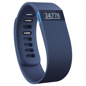 Bratara Wireless, Blue, FITBIT Charge Large