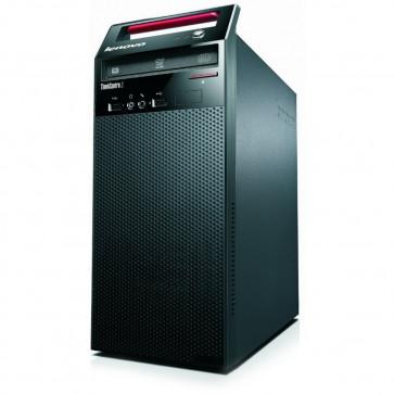 Desktop PC LENOVO ThinkCentre E73 TWR, Procesor Intel® Core™ i3-4160 3.60GHz Haswell, 4GB DDR3, 500GB HDD, GMA HD 4400, Win 7 Pro + Win 8.1 Pro, Card Reader