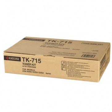 Toner, black, 34.000 pagini, KYOCERA TK-715