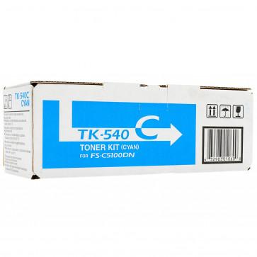 Toner, cyan, 4000 pagini, KYOCERA TK-540C