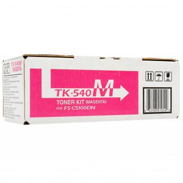 Toner, magenta, 4000 pagini, KYOCERA TK-540M