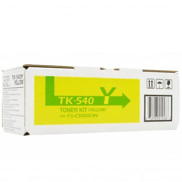 Toner, yellow, 4000 pagini, KYOCERA TK-540Y