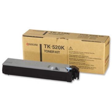 Toner, black, 4000 pagini, KYOCERA TK-520K