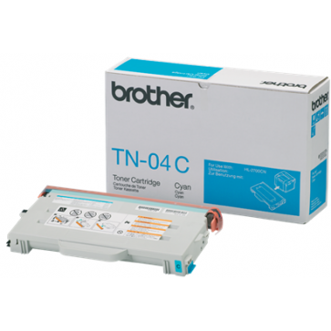 Toner, cyan, BROTHER TN04C