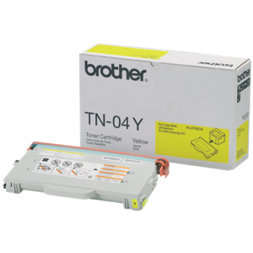 Toner, yellow, BROTHER TN04Y
