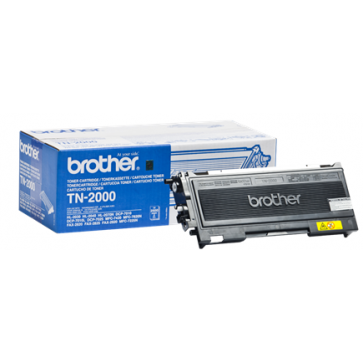 Toner, black, BROTHER TN2000