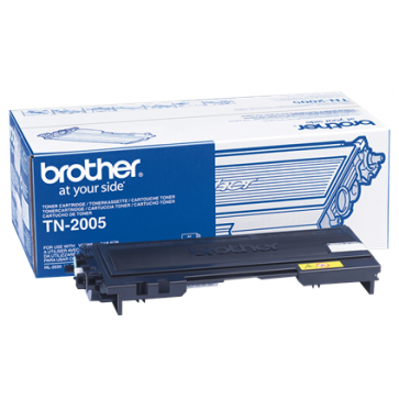 Toner, black, BROTHER TN2005