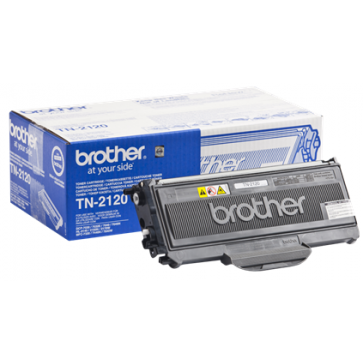 Toner, black, BROTHER TN2120