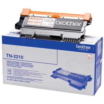 Toner, black, BROTHER TN2210