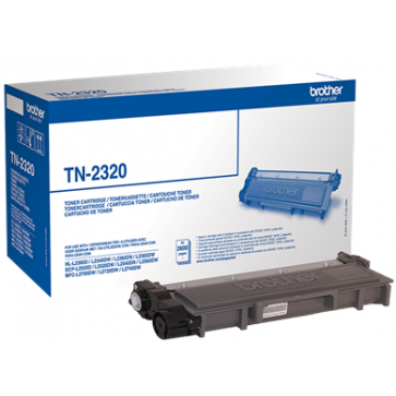 Toner, black, BROTHER TN2320