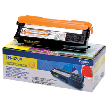 Toner, yellow, BROTHER TN320Y