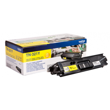 Toner, yellow, BROTHER TN321Y