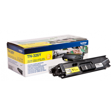 Toner, yellow, BROTHER TN326Y