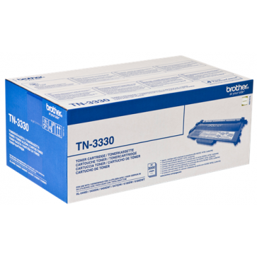 Toner, black, BROTHER TN3330
