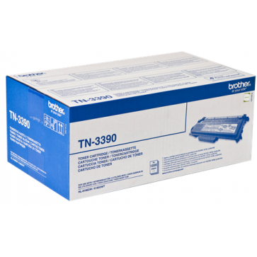 Toner, black, BROTHER TN3390