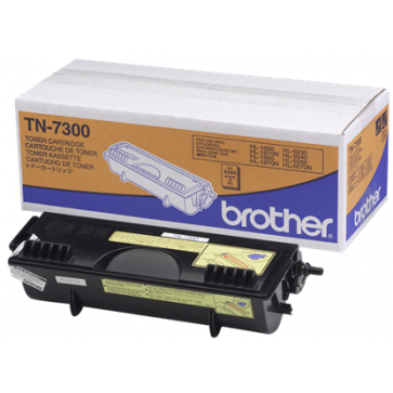 Toner, black, BROTHER TN7300