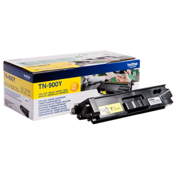 Toner, yellow, BROTHER TN900Y