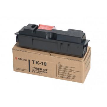 Toner, black, 7200 pagini, KYOCERA TK-18
